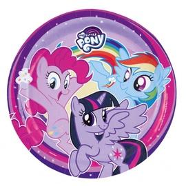 Vienkartinių lėkščių komplektas My Little Pony,Ø 23 cm,  8 vnt
