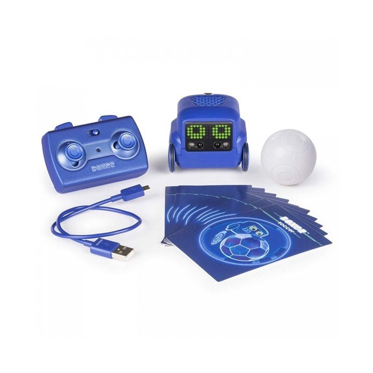 Spin Master Robot Toy Boxer Blue