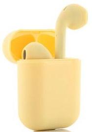 Belaidės ausinės InnovaGoods NovaPods In-Ear Yellow