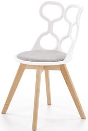 Valgomojo kėdė Halmar K308 Grey/White, 1 vnt.