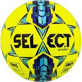 Select Samba IMS 15104 Football Yellow/Blue Size 5