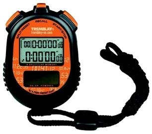 Tremblay CHRO24 Solar Stopwatch Orange Black