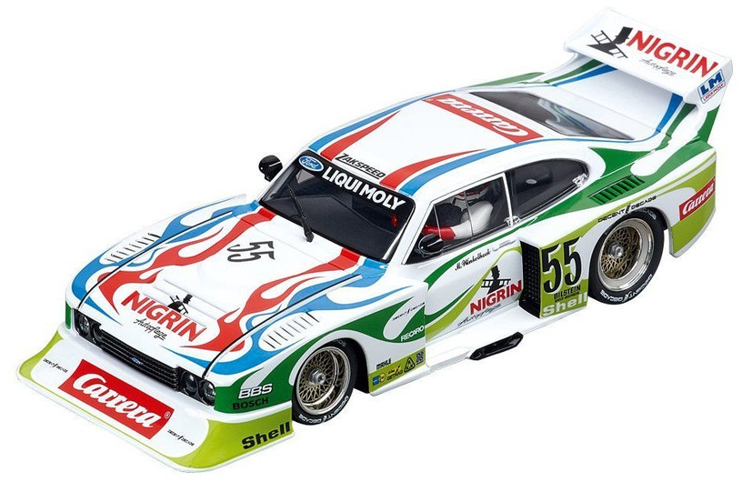 Carrera Digital 132 Ford Capri Zakspeed Turbo Liqui Moly Equipe No.55 20030817