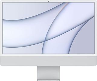 """Stacionarus kompiuteris Apple iMac / MGPD3ZE/A / 24"""" Retina 4.5K / M1 8-Core GPU / 8GB RAM / 512GB Silver LT"""