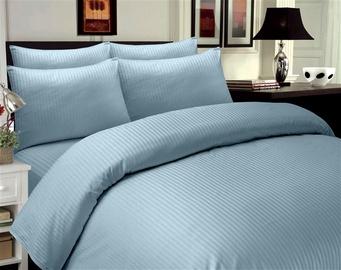Patalynės užvalkalų komplektas Domoletti Stripes Blue, 200x220 cm/50x70 cm