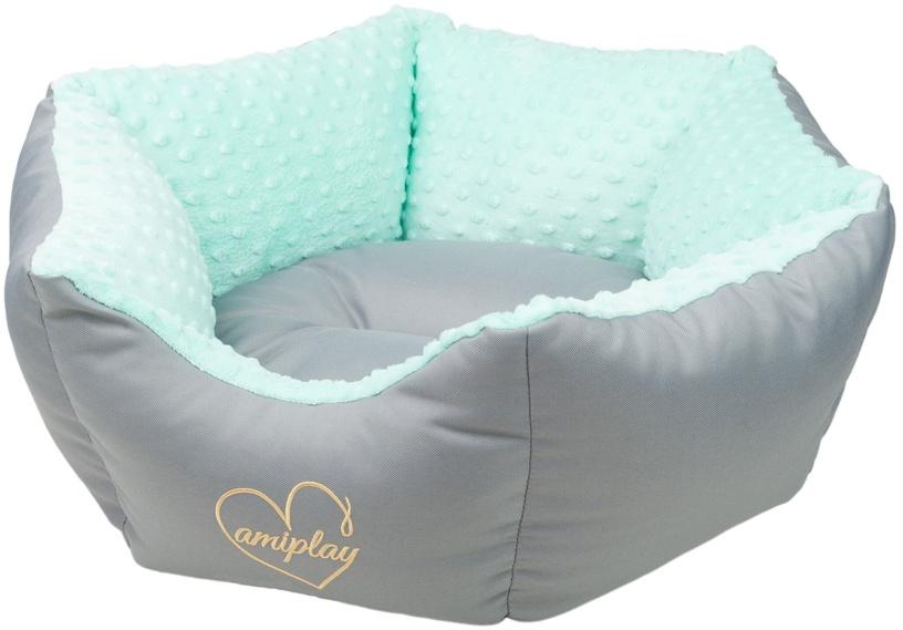 Лежанка Amiplay Babydoll Crown Bed M 58x23cm Mint