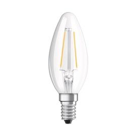 LED lempa Osram B35, 1.1W, E14, 2700K, 136lm