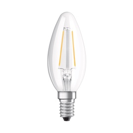 LED LAMP B35 1.6W E14 827 FIL 136LM