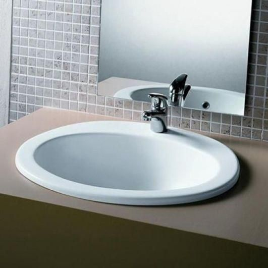 Jika Ibon 520x410mm Washbasin White
