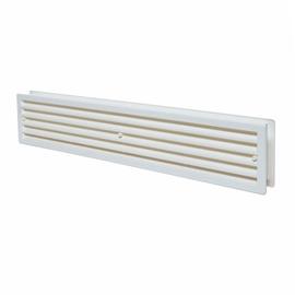 Ventilācijas reste durvīm Europlast VR459, 450x92, balta
