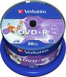 Verbatim 50x 4.7GB DVD+R 16x 43512
