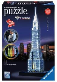 3D-pusle Ravensburger Chrysler Building Night Edition 12595, 216 tk