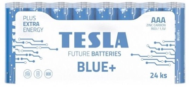 Tesla Blue+ R03 Batteries AAA 550mAh 24pcs