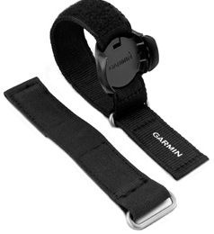 Tālvadības pults siksniņa Garmin Fabric Wrist Strap, melna