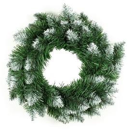 DecoKing Pola Pine Christmas Wreath 50cm Green/White