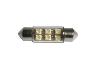 LED-lamp 37mm 6 SMD valge 2tk