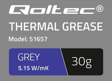 Qoltec Thermal Grease 5.15 W/m-K 30g