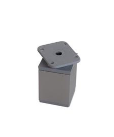 Reguleeritav lauajalg 40x40x120 mm, hall