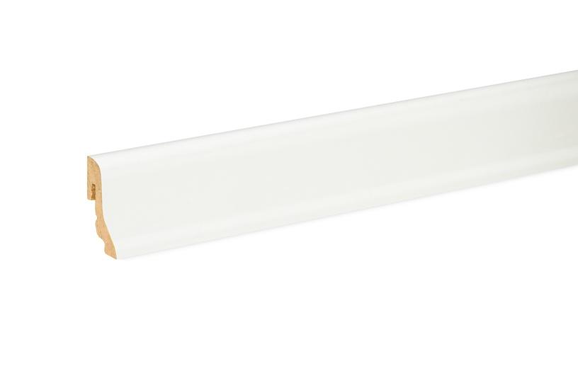 SN MDF Skirting Board 551701 FU18L 2400x38.5x18.5mm White