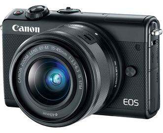Canon EOS M100 BK M15-45 S + IRISTA EU18 Kit Black