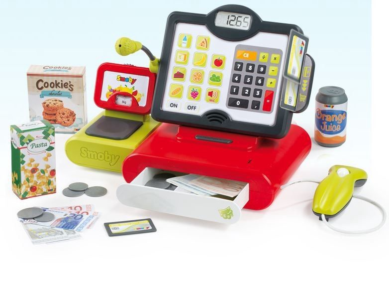 Smoby Electronic Cash Register 350102