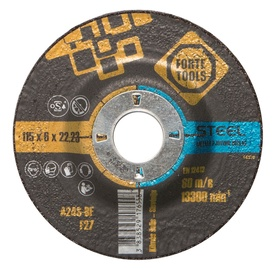 Lihvketas Forte Tools115x6,0x22,23 A24, metall