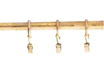 Aizkaru stangas stienis D16, 220cm, zelta