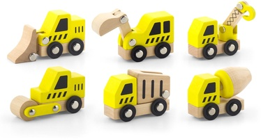 Žaislinė figūrėlė Viga Construction Vehicles Set 6pcs 50541