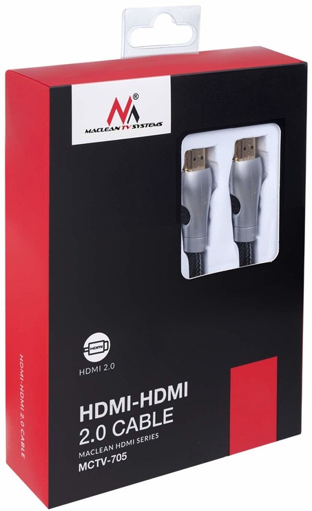 Maclean MCTV-705 HDMI Cable Extension 3m