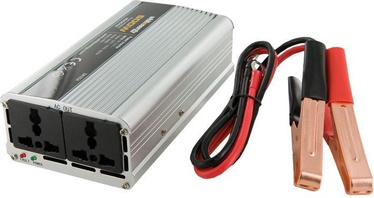 Whitenergy Receptacle Power Inverter 12V DC To 230V AC 500W