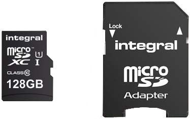 Integral UltimaPro microSDXC 128GB UHS-I Class 10 + Adapter