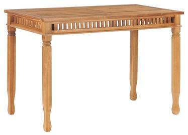 Садовый стол 49385, коричневый