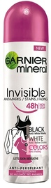Garnier Mineral Invisible Black White Colors Deodorant Spray 150ml