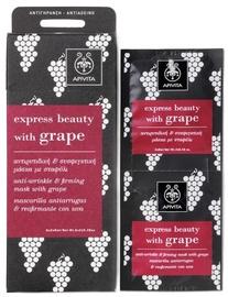 Apivita Express Anti Wrinkle Mask Grape 2 x 8ml