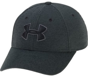 Under Armour Cap Men's Heathered Blitzing 3.0 Cap 1305037-001 Black L/XL