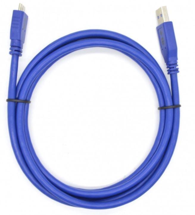 TB Cable Micro USB / USB 1m Blue