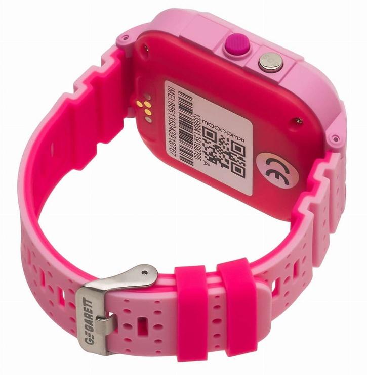 Išmanioji apyrankė Garett Kids 4G, rožinė