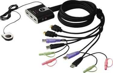 Aten CS692 2-Port USB HDMI/Audio KVM Switch w/ Remote Port Selector
