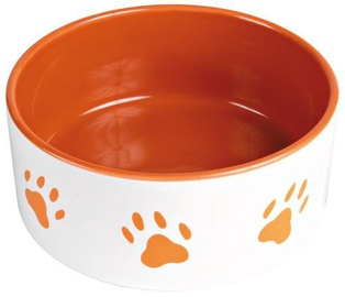 Trixie Bowl With Paw Print 12cm