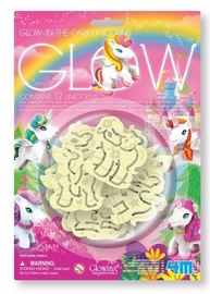 4M Glow In The Dark Unicorns 12pcs
