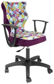 Vaikiška kėdė Entelo ST32 Black/Violet, 400x370x1010 mm