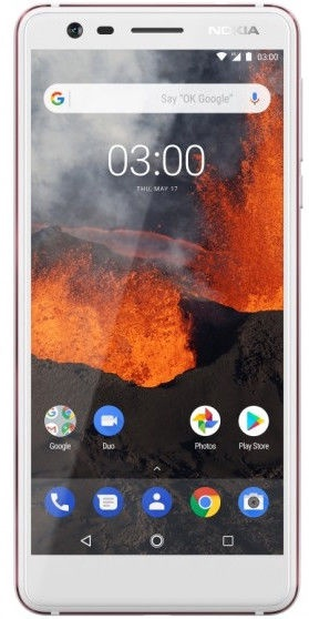 Nokia 3.1 Dual 16GB White