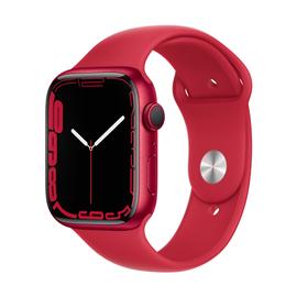 Nutikell Apple Watch Series 7 GPS 45mm Aluminum, punane