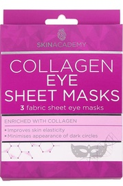 Skin Academy Collagen Eye Sheet Mask 3pcs