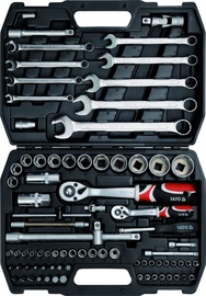 Yato YT-12691 Tool Set 1/4'' 1/2'' 82pcs