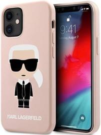 Чехол Karl Lagerfeld, розовый, 5.4 ″