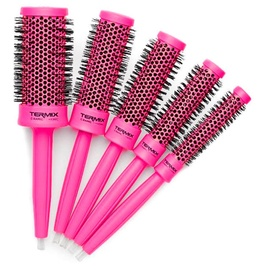 Termix Cepillos Ceramic Brush Pink 5pcs