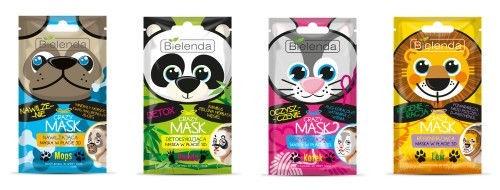 Bielenda Crazy Mask Detoxifying Sheet Mask Panda 1pcs