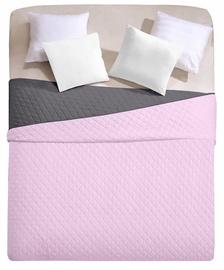 Gultas pārklājs DecoKing Axel, rozā/pelēka, 170x270 cm