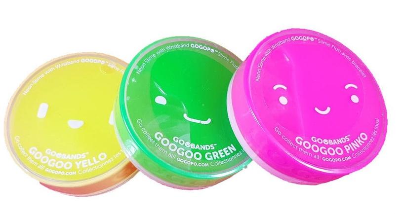 Keycraft GoGoPo GooGoo Neon Yello Slime Yellow